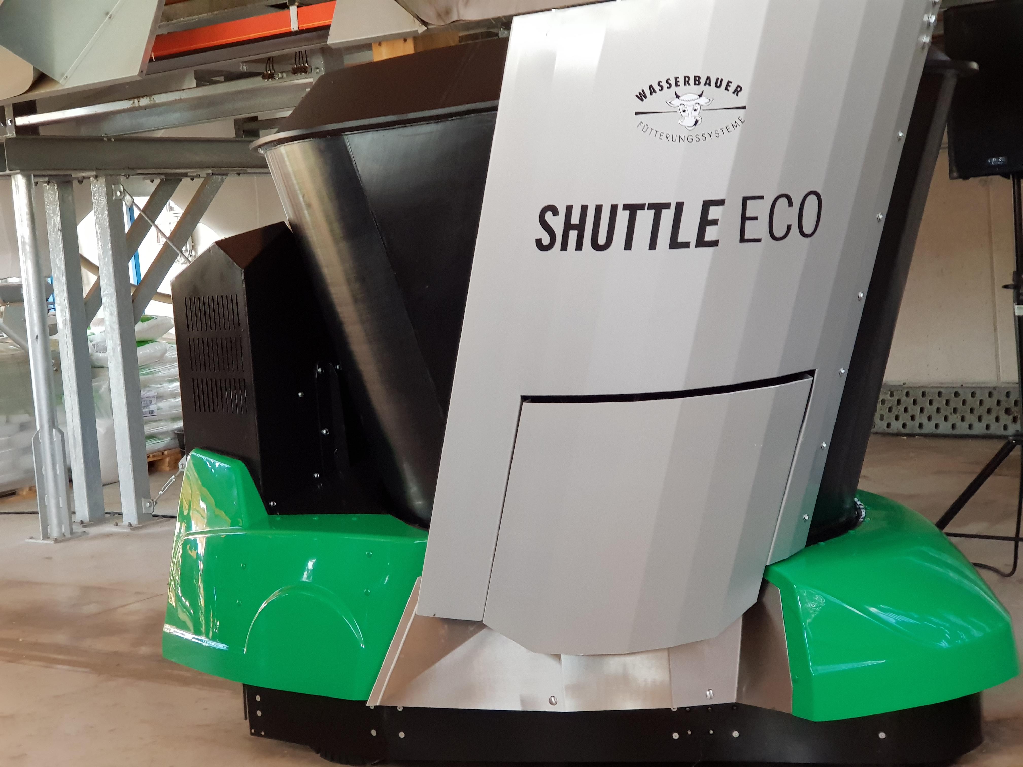 Shuttle Eco von Wasserbauer Fütterungssysteme